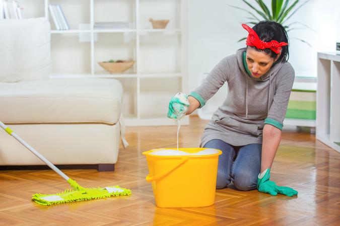 Parket reinigen met zeep of reinigingsmiddel?